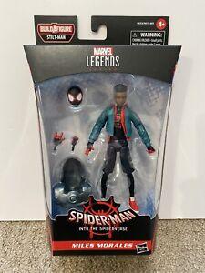 Miles Morales Action Figure Marvel Legends Series Spider-Man Spider-Verse New!
