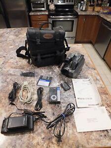 Panasonic PV-L750D VHS-C Camcorder Bundle W/Bag TESTED Remote Control