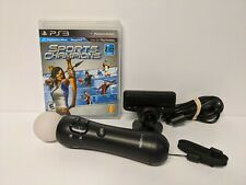 Playstation 3 (PS3) Move Bundle Sports Champions, Motion Controller, and Camera!
