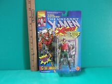 "The Uncanny  X-Men X-Force G.W. Bridge 5""in Figure w/Rapid Fire Gun Toy Biz"