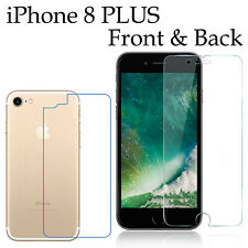 Anti-scratch 4H PET film screen protector Apple iphone 8 PLUS front + back