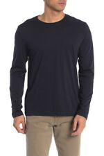 M388 NWT VINCE PIMA COTTON CREWNECK LONG SLEEVE MEN TEE SHIRT SIZE S, M,L,XL $65