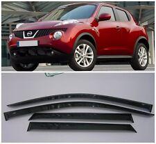 For Nissan Juke YF15 2010-2017 Window Side Visors Sun Rain Guard Vent Deflectors