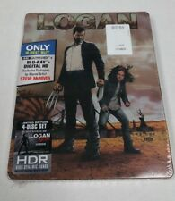 Logan 4K Ultra HD HDR Blu-Ray Collectible Steelbook (Includes NOIR Version) NEW