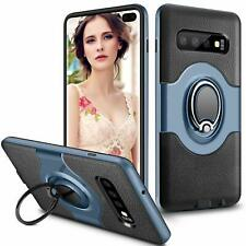 Samsung Galaxy S10 Plus Phone Case Ring Holder Kickstand Protective Bumper Cover