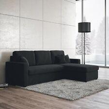 Divano letto trasformabile 3 posti con penisola Mod. Multiply per sala soggiorno