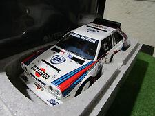 LANCIA DELTA S4 # 5 RALLY ARGENTINE 1986 au 1/18 AUTOART 88621 voiture miniature