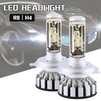 2x 16000LM H4 HB2 9003 LED Phare Double Poutres Ampoules Blanc G