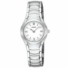Pulsar Stainless Steel Strap Adult 100 m (10 ATM) Water Resistance Wristwatches