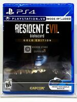 Resident Evil 7 Biohazard - Gold Edition - PS4 - Brand New   Factory Sealed