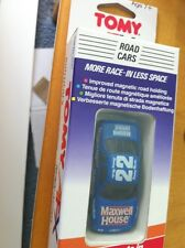 discontinued ho scale TOMY AFX ROADCAR BLUE MAXWELL HOUSE