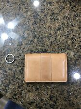 Authentic Coach Tan Leather Bifold Wallet