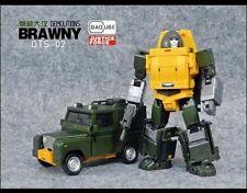 US Seller Transformers Masterpiece Badcube BC OTS-02 Brawny G1 Brawn 2nd Edition