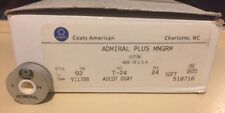 Lot of 66 Coats American Admiral Plus Mngrm L 24  92 YDS ASCOT GRAY LT GRAY