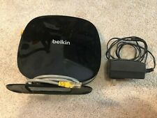 Belkin N750 DUAL-BAND Wireless N+ Router (model F9K1110V1) with power cord
