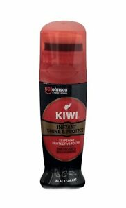 Kiwi Instant Shine & Protect Shoe Polish Black 75ml