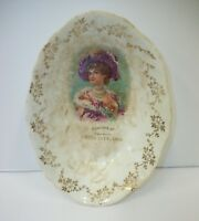 Antique Advertising Bowl - Souvenir of Switz City Indiana