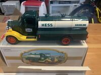 The First Hess Truck 1980s  Adult Owned With the Original Packaging Box stored