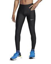 Nike Herren lange Laufight Laufhose M NK Run Mobility Tight schwarz AT4238 010