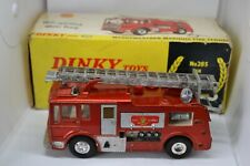 DINKY TOYS MERRYWEATHER MARQUIS FIRE TENDER N. 285 MADE IN ENGLAND
