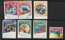 NEW ZEALAND SG2097/103 1997 CHRISTMAS FINE USED
