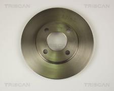 2x Bremsscheibe TRISCAN 812029124 vorne für AUDI