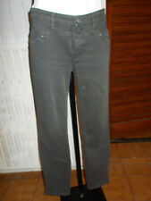 Pantalon jeans gris HUGO BOSS W30 40FR taille basse slim stretch 18na17