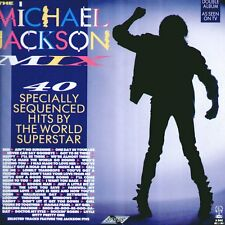 """MICHAEL JACKSON """" MIX 40 SPECIALLY SEQUENCED HITS BY THE WORLD... """" 2 LP NUOVO"""