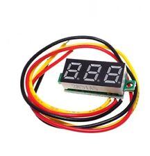 """Green 0.28"""" 3Wire LED DC 0-100V Voltmeter Digital Display Voltage Panel Meter"""