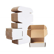 Corrugated Mailersmall Cardboard Shipping Boxes6 X 4 X 2 Oyster White Pack
