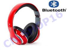 CUFFIE STEREO HEADPHONE SPORT BLUETOOTH CON SLOT MICROSD RADIO SMARTPHONE