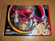 ** Bandai SH Figuarts(SHF) Pokemon Team Rocket Jessie Meowth Figure Box C8