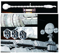 Film 2001 A Space Odissey USS Discovery XD-1 Spaceship Paper Model Kit 60cm Long