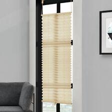 plissée 55x100cm Crème -Sans perceuse PLIAGE DES AVEUGLES
