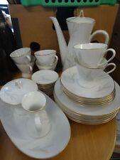 """Kaffeeservice """"Rosenthal"""" Form 2000, 34 Teile für 6 Personen,"""