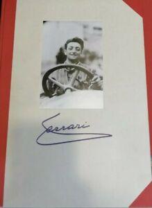 Enzo Ferrari - Una vita per l'automobile - Libro FERRARI + COFANETTO