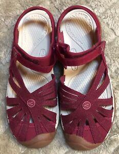 KEEN Rose Sandal Women's Size 8.5 New w/o Box Dark Magenta Color