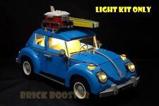 USB Powered LED Light Kit (Warm White) for Lego 10252 Volkswagen Beetle
