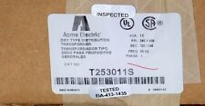 1.5 KVA 480x240 to 240x120 single phase transformer T253011S Acme