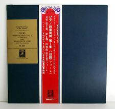 Faure, M. Long, Trio Pasquier, Piano Quartet No.1 EMI ANGEL JAPAN GR-2127 NM EX