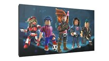 roblox crue canvas wall art Wood Framed Ready to Hang XXL