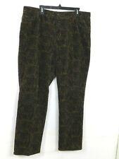 Lauren Ralph Lauren Womens Corduroy Pants Size 20W Brown