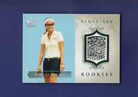 Jennifer Rosales RC 2004 Upper Deck SP Signature Golf First Tee Rookies  #60
