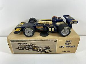 1972 Mark Donohue Indianapolis 500 Winner Sunoco McLaren Penske Racing Decanter