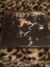 Kiss - Alive! (CD, 1975, 2 Discs, Casablanca) Made in USA OOP First Press