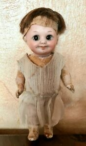 Googly Antique Doll Made IN Germany 323 IN 11/0 M Height 5 7/8in