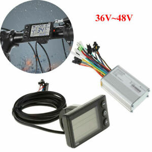 UK Electric Bicycle E-bike Scooter Brushless DC Motor Speed Controller 36/48V