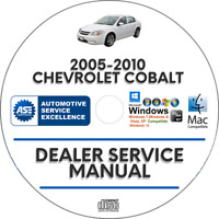 Chevrolet Cobalt 2005-2010 Factory Service Repair Manual