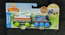 Fisher-Price Thomas and Friends Wood Birthday Train Wooden Railway NEW 2018
