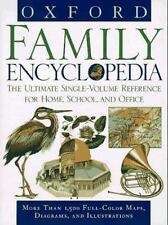 Oxford Family Encyclopedia: The Ultimate Single-Volume Reference for Home, Schoo